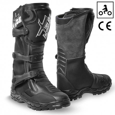 Botte cross enfant Noir XTRM Factory 81